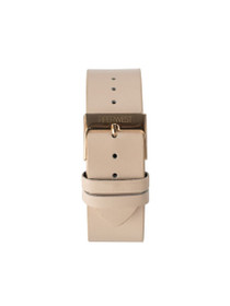 Leather Strap in Blush/Rose Gold