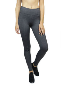Vitality Full Length Compression Legging in Charcoal