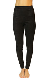 Secret Weapon High Waist Vegan Suede Legging