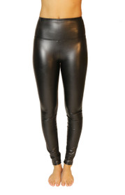 Secret Weapon High Waist Vegan Leather Legging