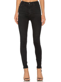 Mila High Rise Skinny Denim in 3 Years Obsidia