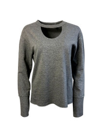Love In Ruins Keyhole Sweatshirt