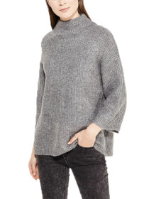 Olivia Long Sleeve High Neck Pullover Knit