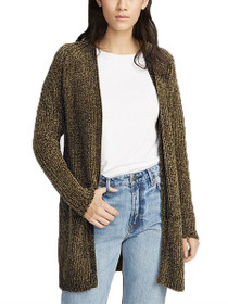 Commerce Long Sleeve Open Cardigan