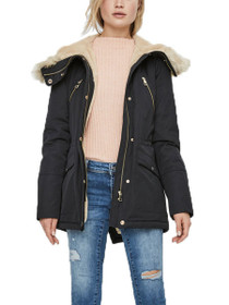 Mandri Faux Fur Hooded Parka