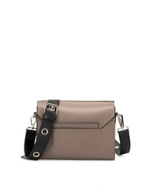 Sylvana Stud Crossbody Vegan Bag in Taupe
