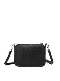 Aida Tech Inspired Crossbody Vegan Bag in Black