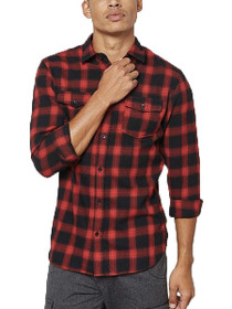Wesley Long Sleeve Button Down Plaid Shirt