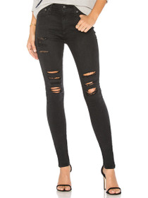 Farrah Skinny Distressed Denim in 3 Years Requiem