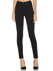 Farrah Skinny Denim in Super Black