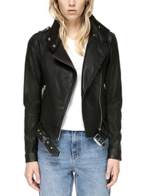 Hania Biker Style Leather Jacket