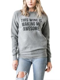 This Wine Crew Neck Sweatshirt