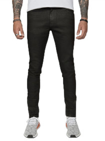 Everyday Slim Denim in Waxed Black