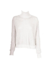 Don't Cross Me High Neck Knit Sweater