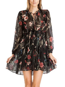 Destiny Floral Long Sleeve Boho Dress