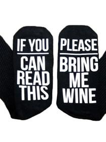Bring Me Wine Sock
