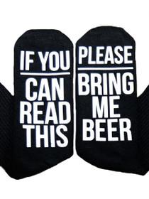 Bring Me Beer Sock
