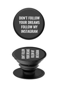 Follow My Instagram Pop Socket