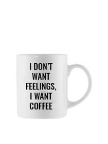 I Want Coffee Oversized Mug