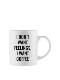I Want Coffee Oversized Mug