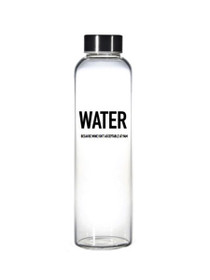 5 O'Clock Somewhere Glass Water Bottle