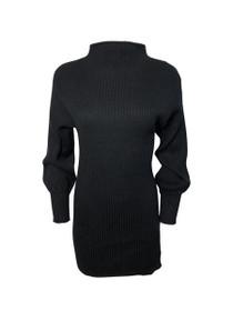 Cohen Mock Neck Long Sleeve Sweater Dress