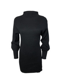Cohen Mock Neck Long Sleeve Sweater Dress