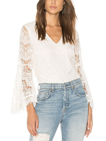Tainted Love Wide Sleeve Lace Top
