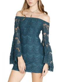 Tainted Love Lace Off The Shoulder Dress