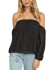 Forever Or Never Off The Shoulder Long Sleeve Top