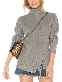 Secret Maze Laceup Knit Jumper