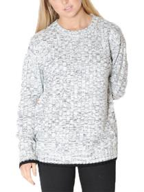 Waffle Knit Jumper Sweater