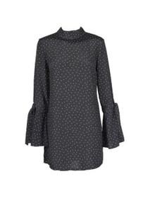 Etoile Long Sleeve High Neck Tunic Dress