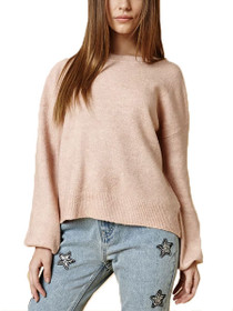 Blouson Sleeve Knit Jumper