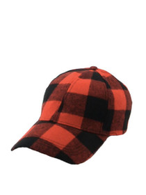 Valley Plaid Baseball Cap
