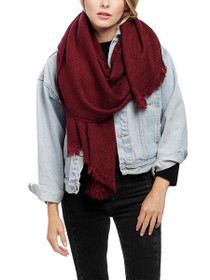 Horizon Long Tassel Scarf