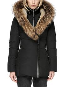 Akiva Fur Lined Down Coat