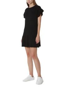 Mckenzie Short Sleeve Peplum Dress