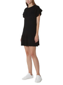 Mckenzie Short Sleeve Peplum Dress