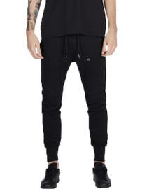 Blockshot Fleece Jogger Pant in Black