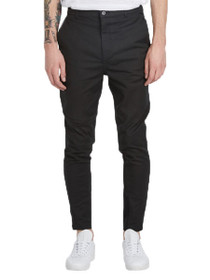 Sharpshot Chino Pant in Black