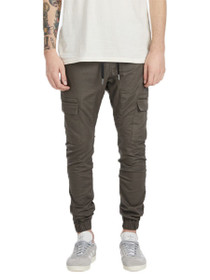 Sureshot Cargo Jogger Pant in Peat