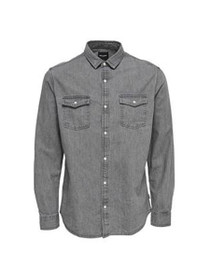 Boye Long Sleeve Slim Denim Shirt