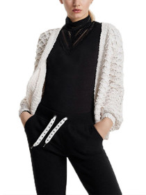 Poplina Long Sleeve Knit Cardigan
