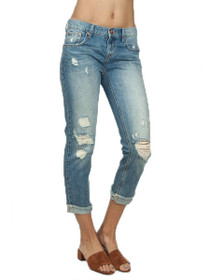 Awesome Baggies Distressed Denim in Blue Buoy