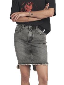 2020 High Waist Denim Skirt in Camden