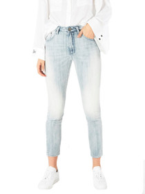 Legend High Waist Mom Jean in Diamonde