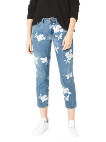 Awesome Baggies High Waist Straight Denim in Havana