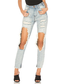 Freebirds High Waist Denim in Blue Hart