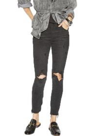 Freebirds High Waist Skinny Denim in Black Oak